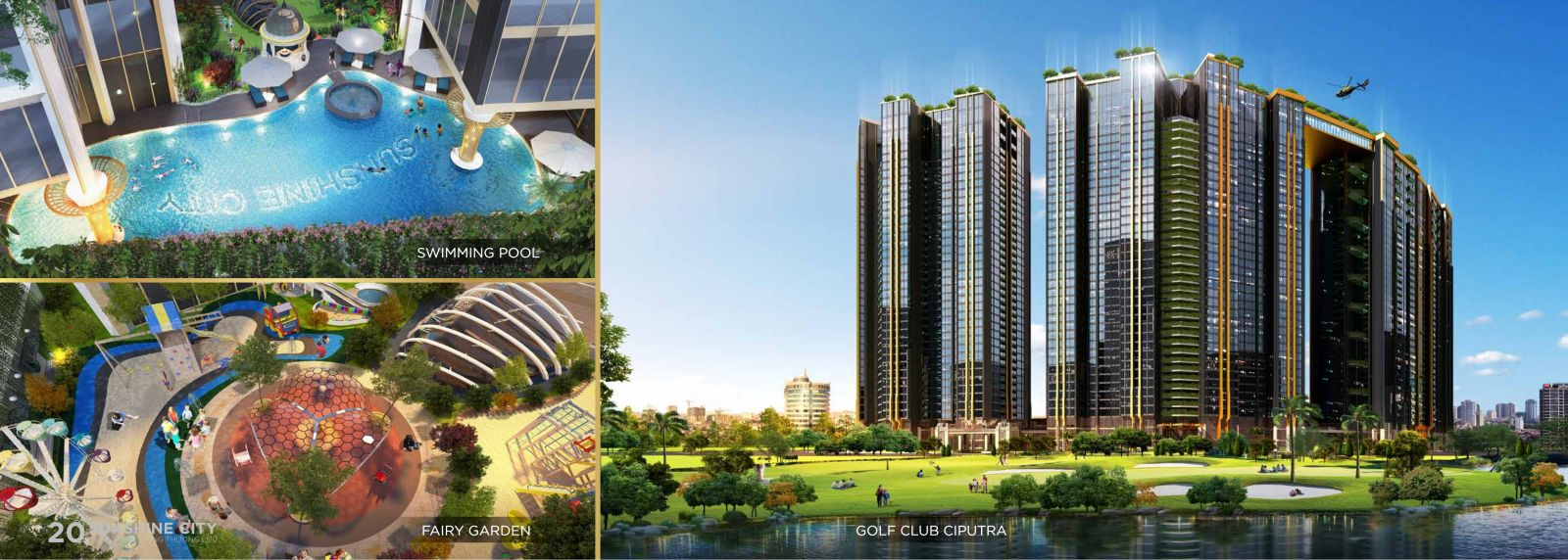 sân gofl sunshine city